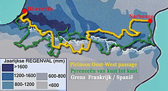 Pyreneeën van kust tot kust motorreis