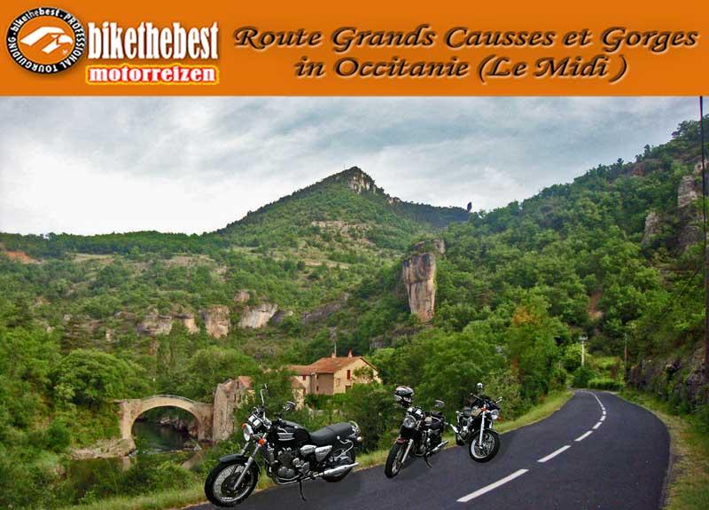 Le Midi: Grands Causses et Gorges in Occitanie